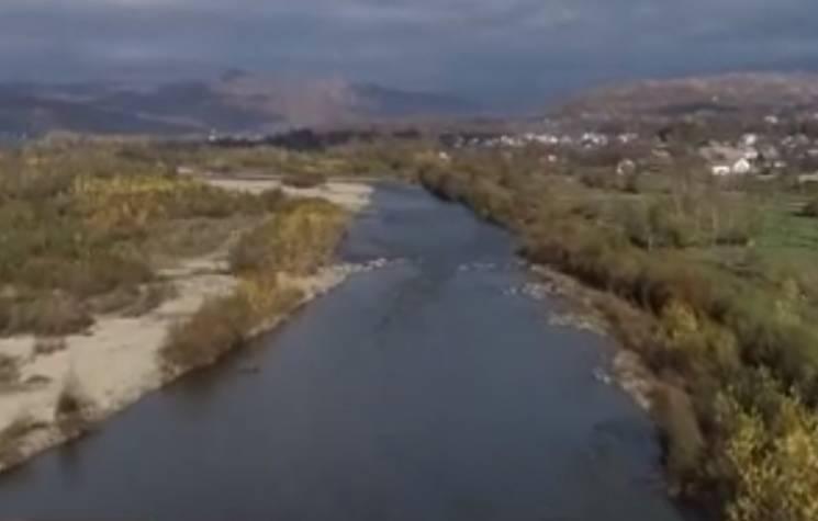 На Тячівщині 50 дворогосподарств можуть опинитися під водою (ВІДЕО)