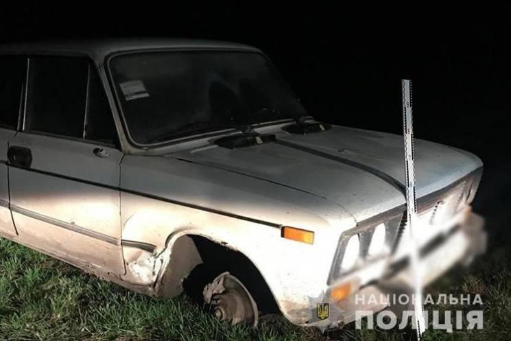 На Тернопільщині горе-водій втік, залиши…