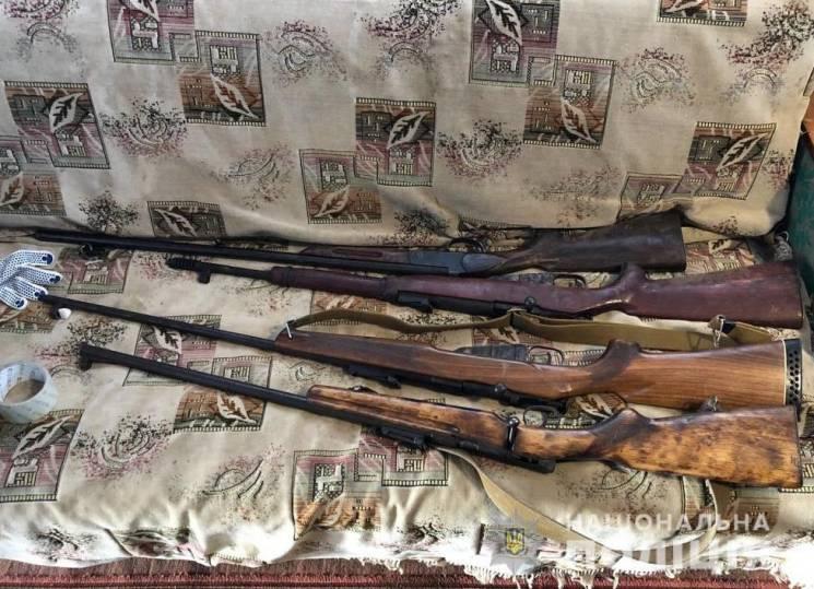 Житель Кропивниччини зберігав рушниці та гвинтівки