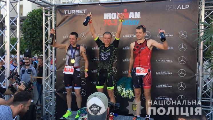 Поліцейський з Дніпра виграв світові перегони на витривалість (ФОТО)