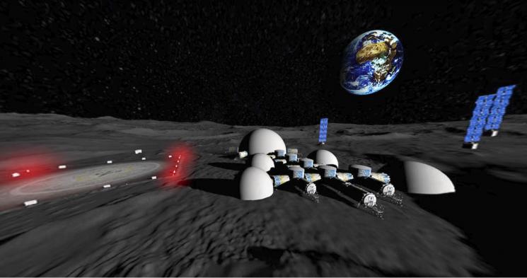 У Дніпрі розробили проект космічної бази на Місяці (ФОТО)
