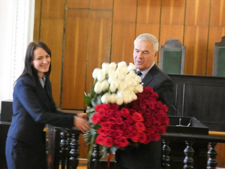 Голова Апеляційного суду Вінницької області звільнився за власним бажанням