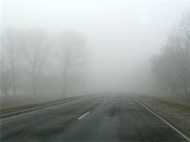 Дніпро накрив щільний туман