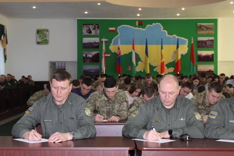 Більше двох тисяч прикордонників Хмельницького долучилися до диктанту єдності (ФОТО)
