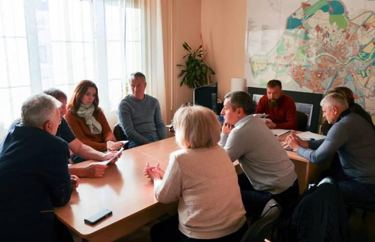 В Ужгородській мерії знову дискутували про набережну Незалежності (ФОТО)