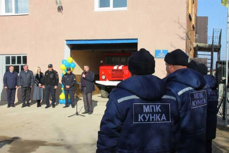 Громада на Вінниччині отримала власну пожежну команду