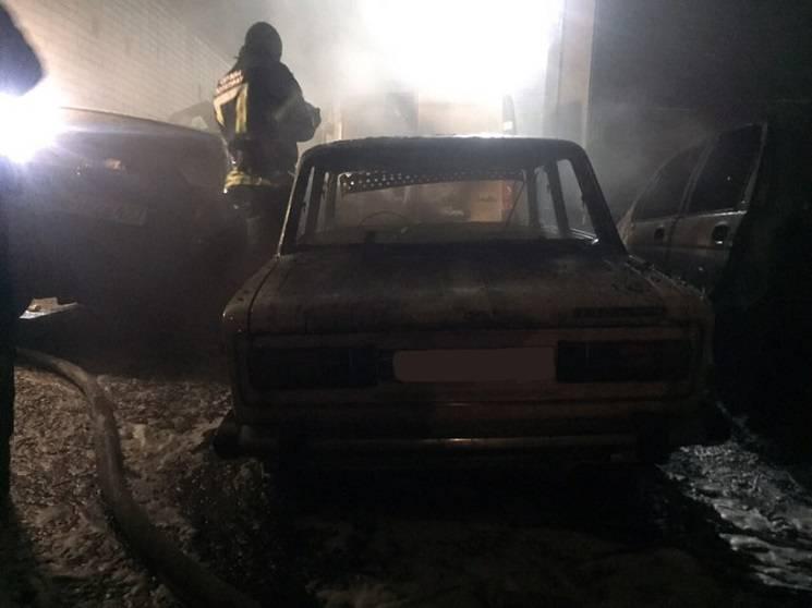 На лівому березі Дніпра горіли п'ять автівок (ФОТО)