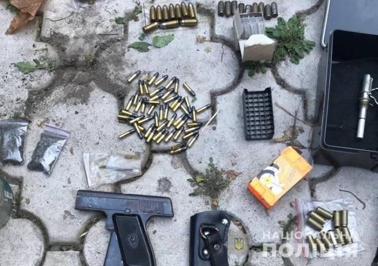 На запоріжжі поліція обеззброїла чоловіка