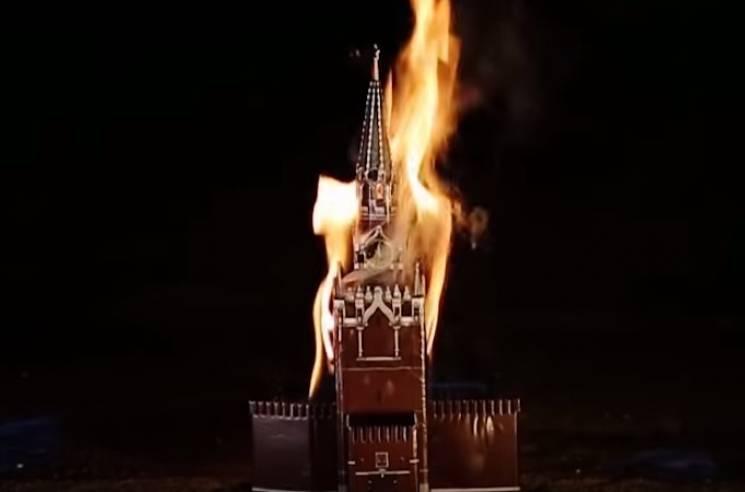 Відомий український репер спалив Кремль та показав головні фейки російської пропаганди (ВІДЕО)