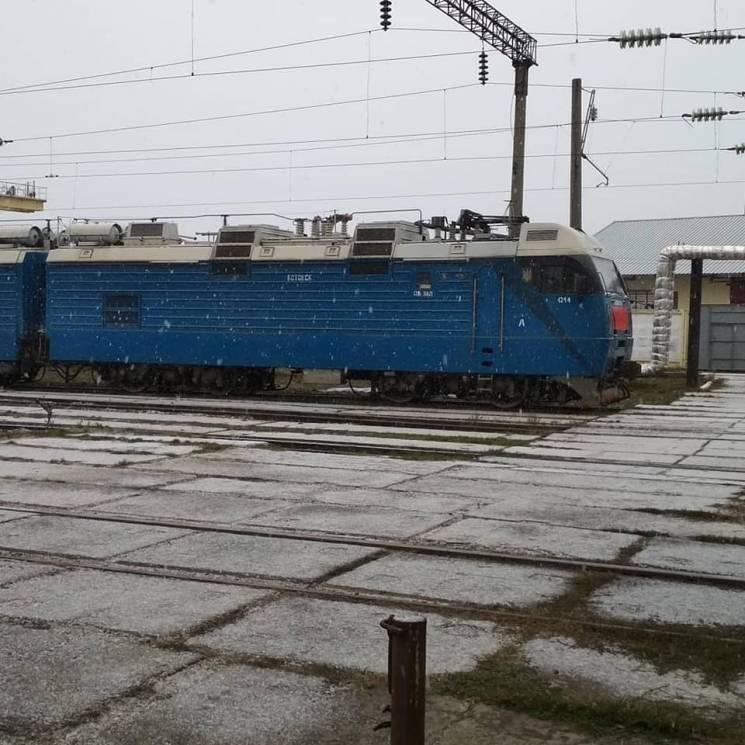 У північних районах Одещини випав перший сніг
