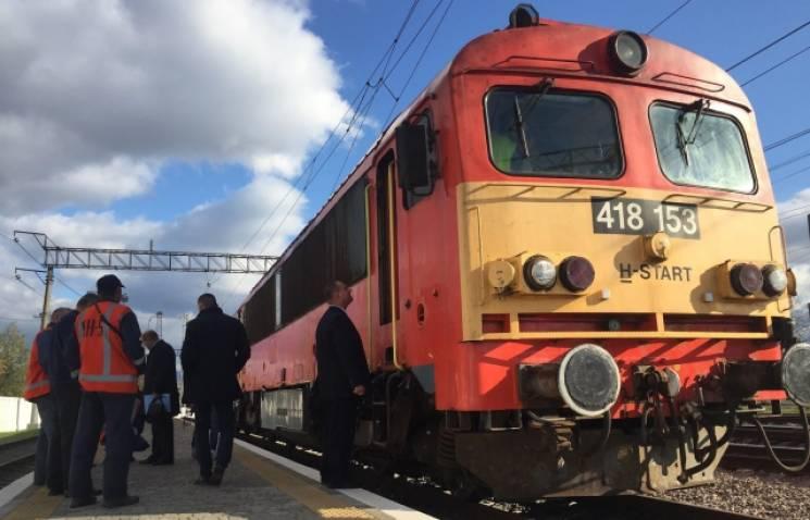 Тестуємось: До Мукачева прибув Інтерсіті з Будапешта (ФОТО)
