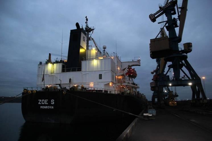 До порту на Одещині надійшло африканське вугілля для обігріву Києва та Чернігівщини