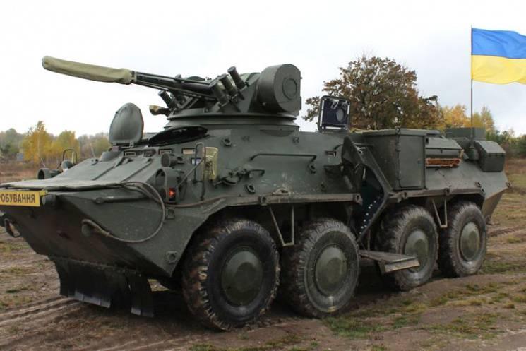 Київський бронетанковий завод виготовив корпус БТР зі сталі НАТО