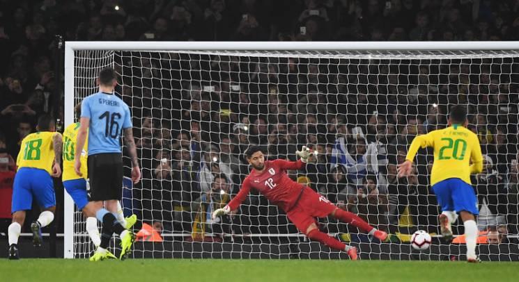 Як зірковий Неймар забивав переможний гол збірній Уругваю (ВІДЕО)