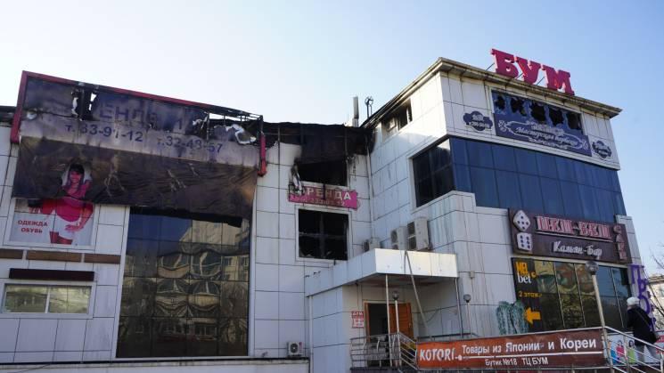 На Росії загорівся торговий центр, обвалився цілий поверх (ФОТО, ВІДЕО)
