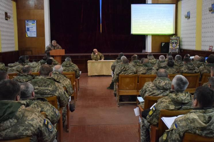 На Тернопільщині розпочалися триденні навчання кадрових офіцерів