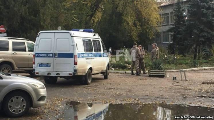 """Керченський політех """"мінували"""" студенти з Амурської області Росії"""