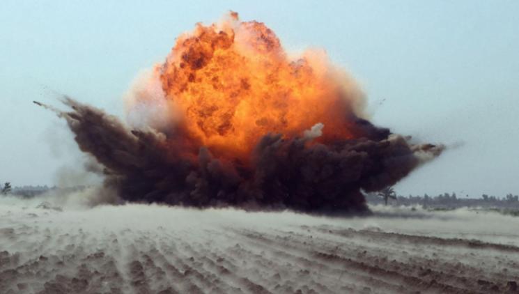На Рівненському полігоні стався вибух