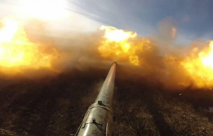 Бойовики били з крупнокаліберного кулемета по Красногорівці