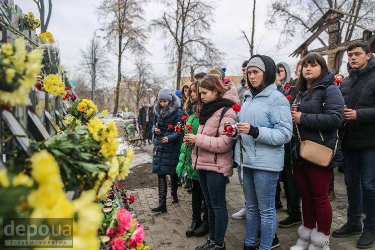 П'ять років по Євромайдану: Студентам розповідають, як усе починалося