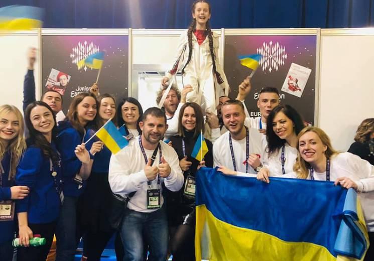 Дівчинка з Вінниці здобула на Дитячому Євробаченні-2018 четверте місце