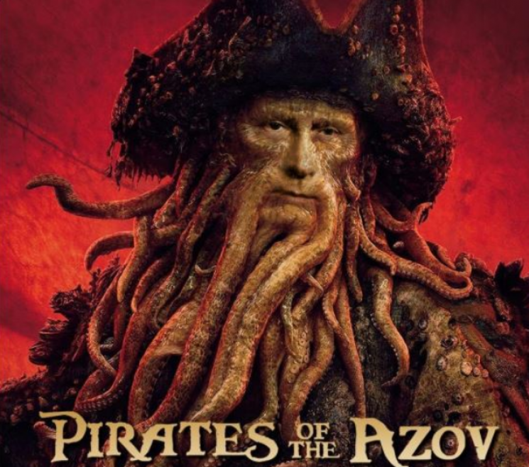 """""""Пірат Азову"""" на підпірках: Як в окупантів """"танцює"""" неосвітлений Керченський міст"""