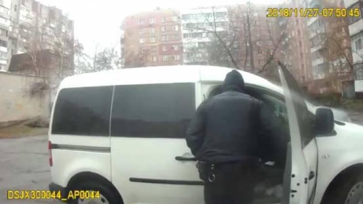 Житель Запорожья пытался поджечь себя по…