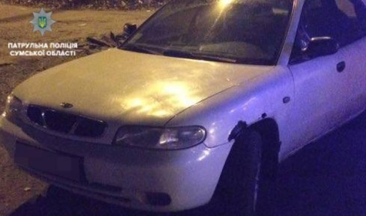 У Сумах копи затримали водія-наркомана