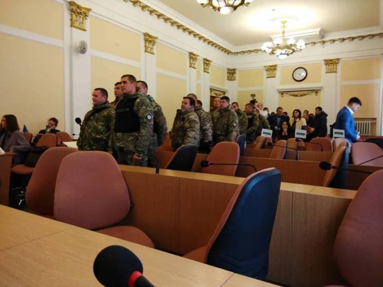 Олександр Шамота призупинив сесію Полтавської міськради (ВІДЕО)