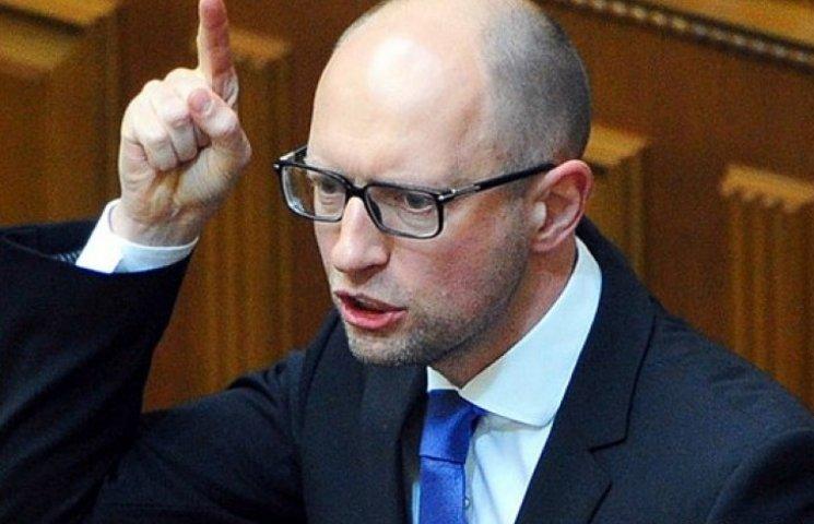 Яценюк намерен отстранить Мусия от работы, а его зама – уволить