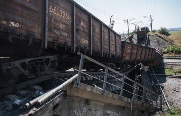 На Востоке Украины разгромлены свыше 30 мостов и почти 1000 км дорог