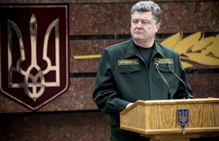 Порошенко обещает реформу армии по стандартам НАТО
