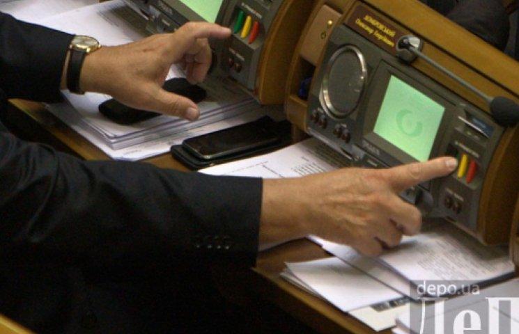Рада приняла за основу Антикоррупционную стратегию