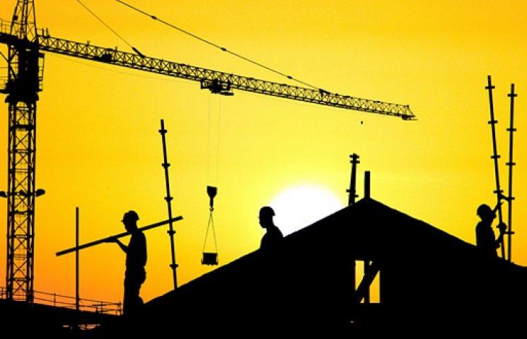Активность украинских строителей упала на 20%