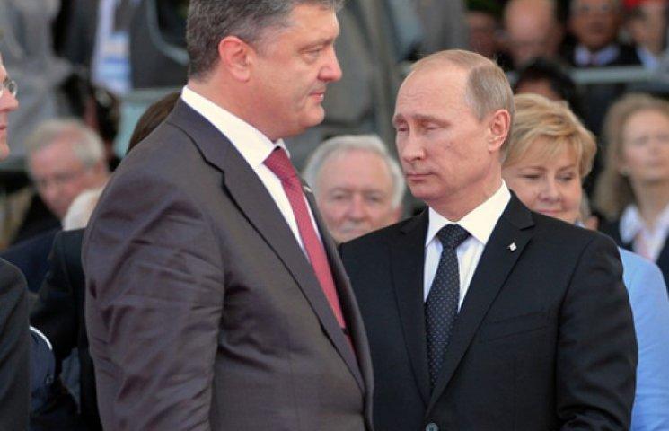 Порошенко прогнозує складну розмову з Путіним у Мілані