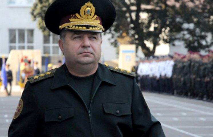 Новим міністром оборони стане нинішній глава Нацгвардії