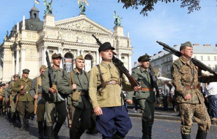 У Львові пройшов марш на честь 72-річчя УПА