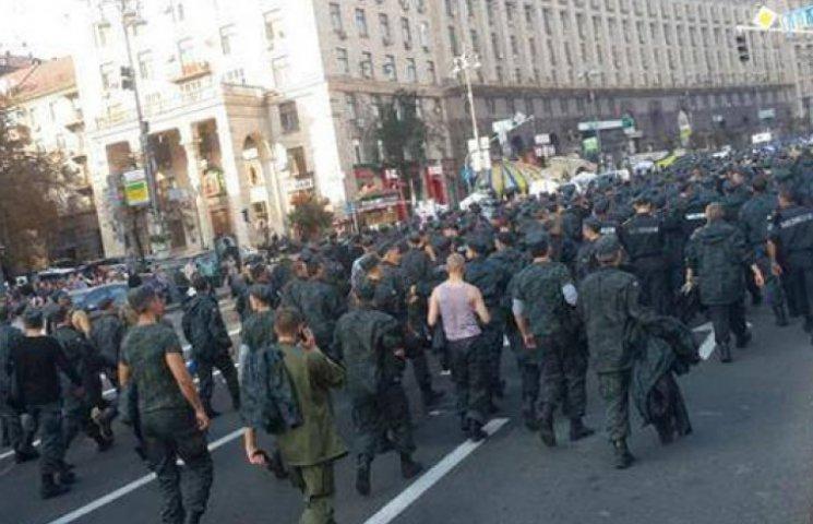Строковики в Нацгвардії вимагають демобілізації: триває акція протесту