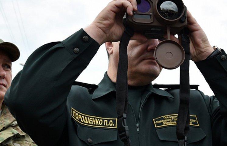 Порошенко намерен со дня на день обсудить контроль над границами