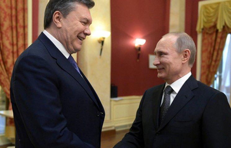 Путин признал, что в феврале помог Януковичу бежать в Крым