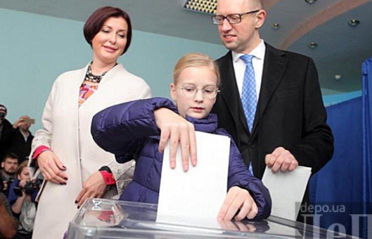 Міжнародний екзит-пол: партія Яценюка практично наздоганяє «Блок Порошенка»