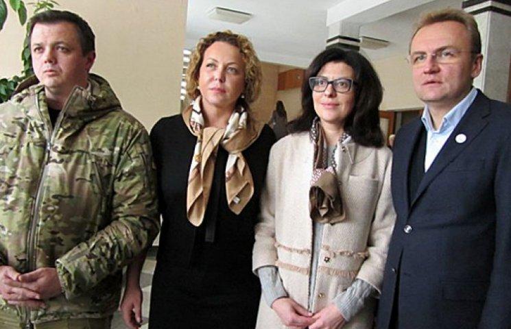 Київ проголосував за партію мера Львова