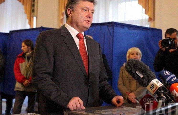 Порошенко считает выборы честными и ждет новую коалицию