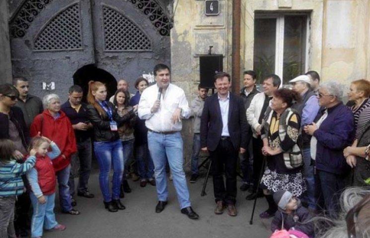 Комітет виборців України звинуватив Саакашвілі в агітації в робочий час