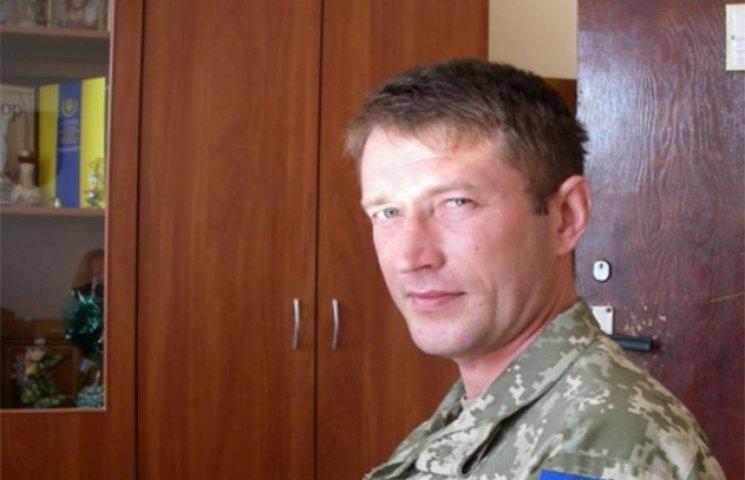 В Білгород-Дністровському вінницький боєць АТО обійняв посаду воєнкома
