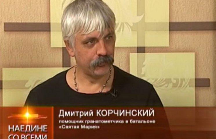 Націоналіст Корчинський в Одесі агітує за екс-мера Гурвіца