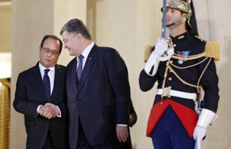 Навіщо Порошенко вигадав власні Паризькі домовленості