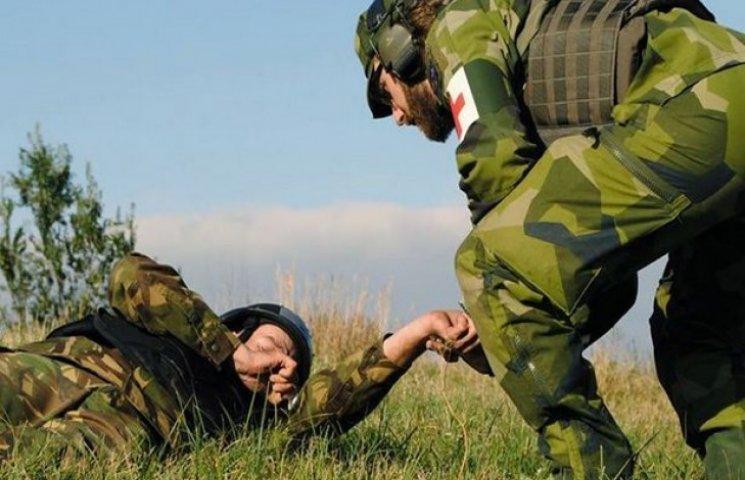 На Хмельниччині шведи навчають військових невідкладній допомозі в польових умовах