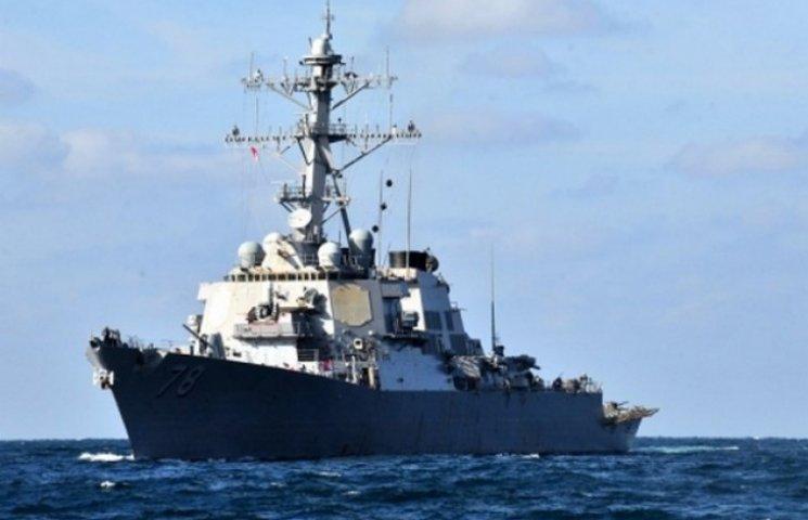 Поки російські кораблі стирчать біля Сирії, до Одеси прямує американський есмінець