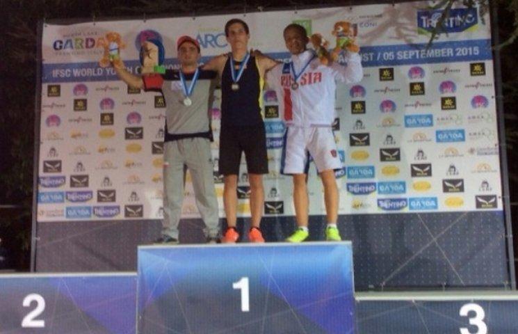 Одесит переміг на світовому молодіжному чемпіонаті зі скелелазіння